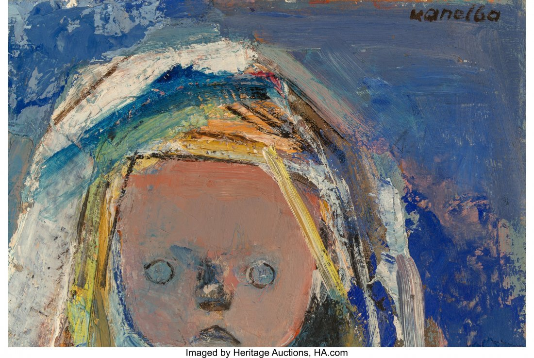 61692: Raymond Kanelba (Polish, 1897-1997) Girl with Me - 3