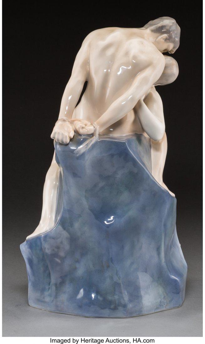 61719: A Large Royal Copenhagen Porcelain Figural Group - 2