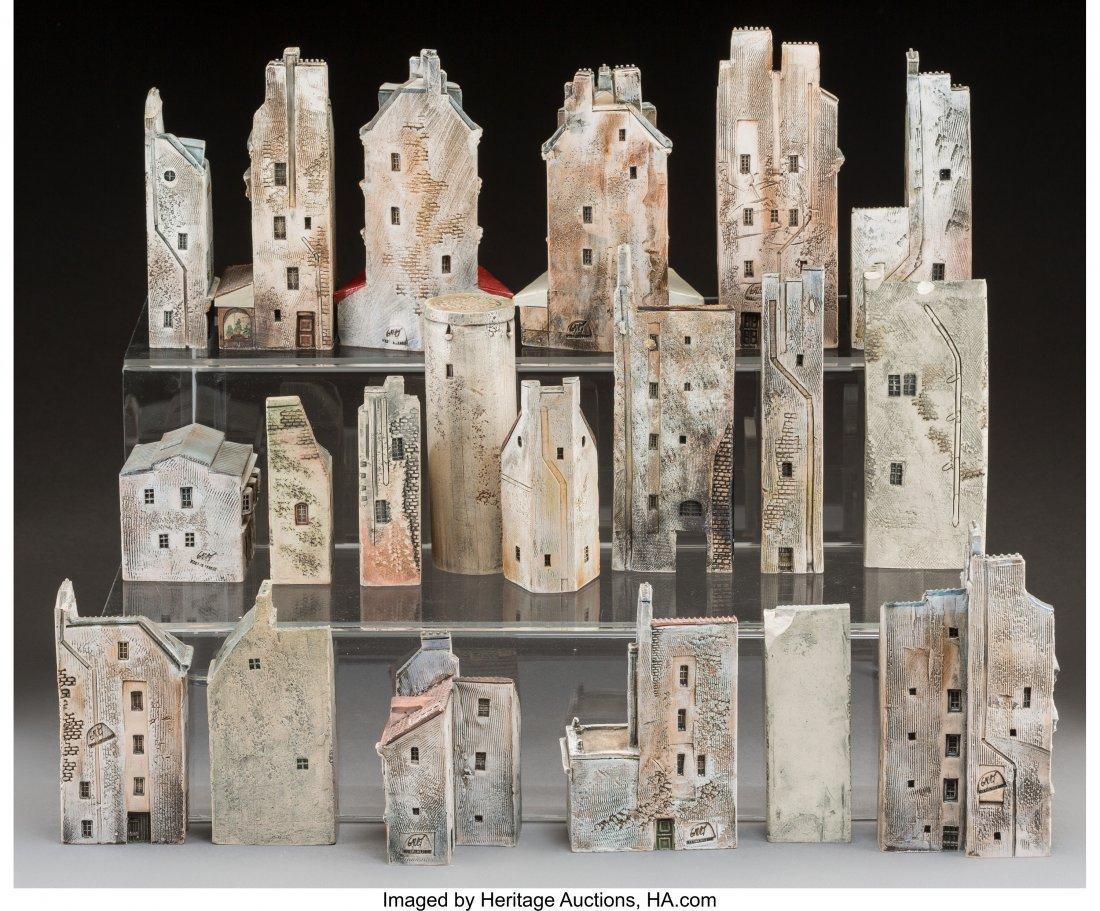 61720: A Collection of Seventy-Five Gault Glazed Cerami - 2