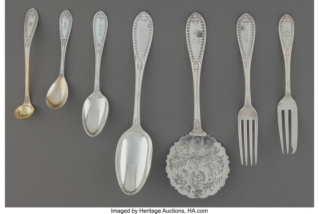 61853: A Thirty Piece John Polhamus for Tiffany & Co. I