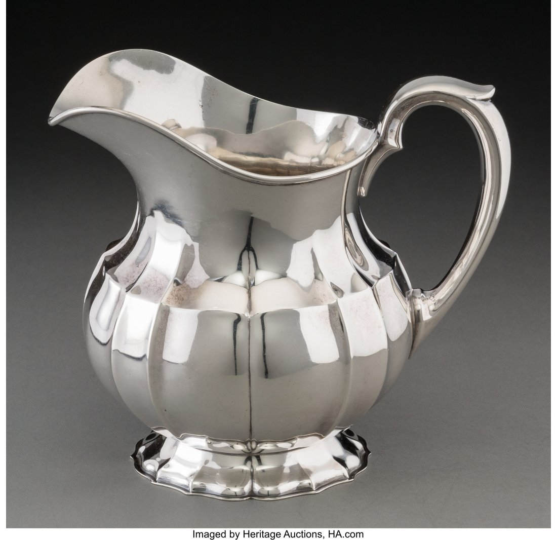 61856: A Frank W. Smith & Co. Silver Water Pitcher, Gar - 2
