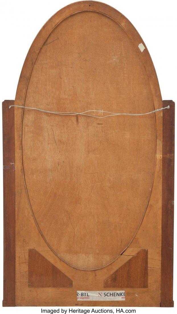 62075: An Art Deco Burled, Ebonized, and Giltwood Mirro - 2