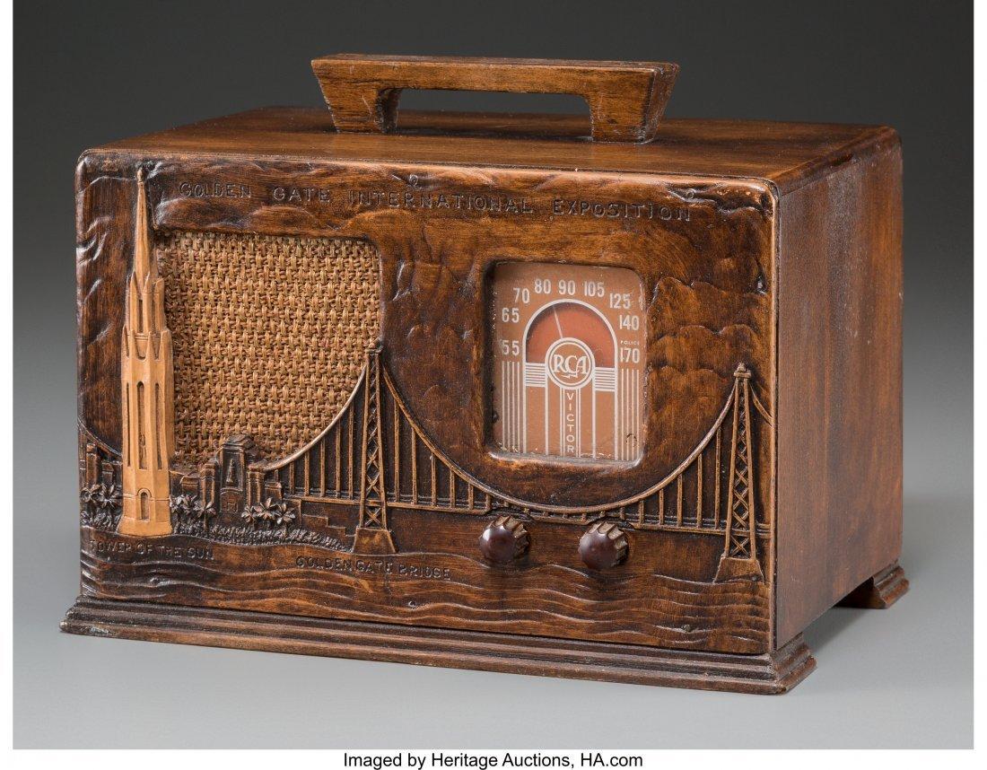 62007: An RCA Victor Wooden Golden Gate International E