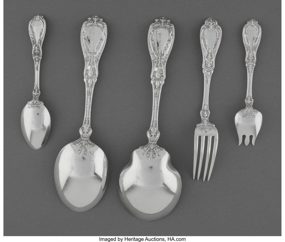 61873: A Twenty-Eight Piece Gorham Paris Pattern Silver - 2