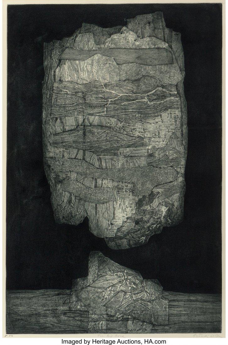 62173: Gabor F. Peterdi (1915-2001) The Big Rock, 1961