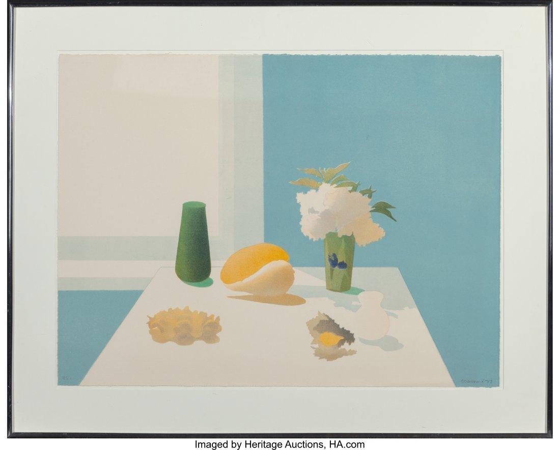 62174: Elizabeth Osborne (b. 1936) Untitled, 1977 Litho - 2