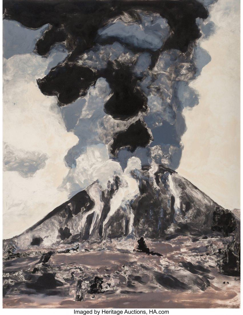 62249: Michele Zalopany (American, b. 1955) Volcano, 19