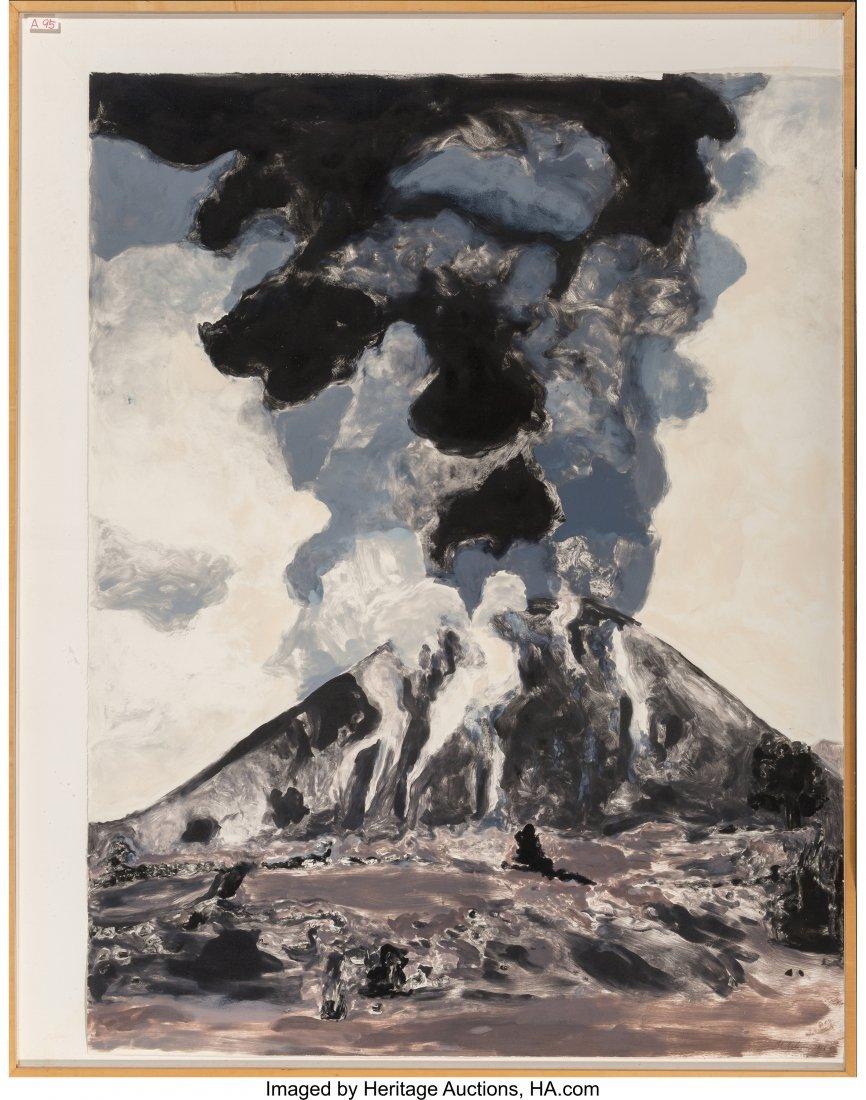 62249: Michele Zalopany (American, b. 1955) Volcano, 19 - 2