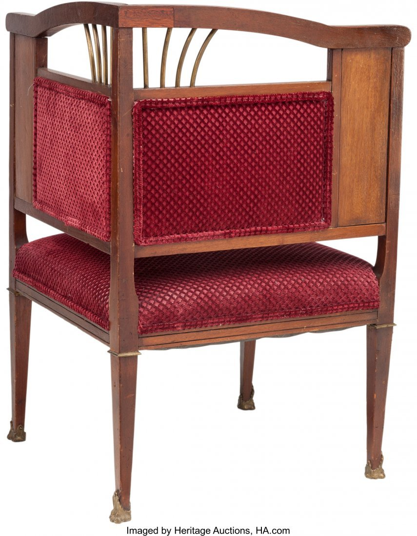 62111: A French Second Empire Mahogany and Gilt Bronze  - 2