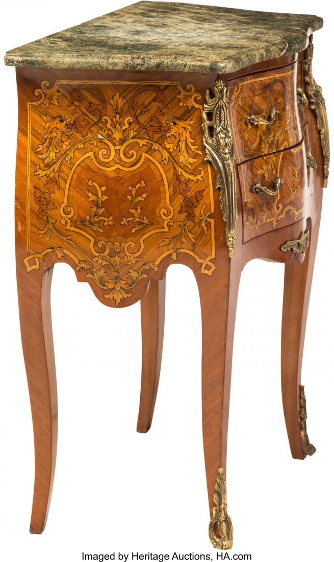 62053: A Pair of Louis XV-Style Diminutive Bombé-Form  - 3