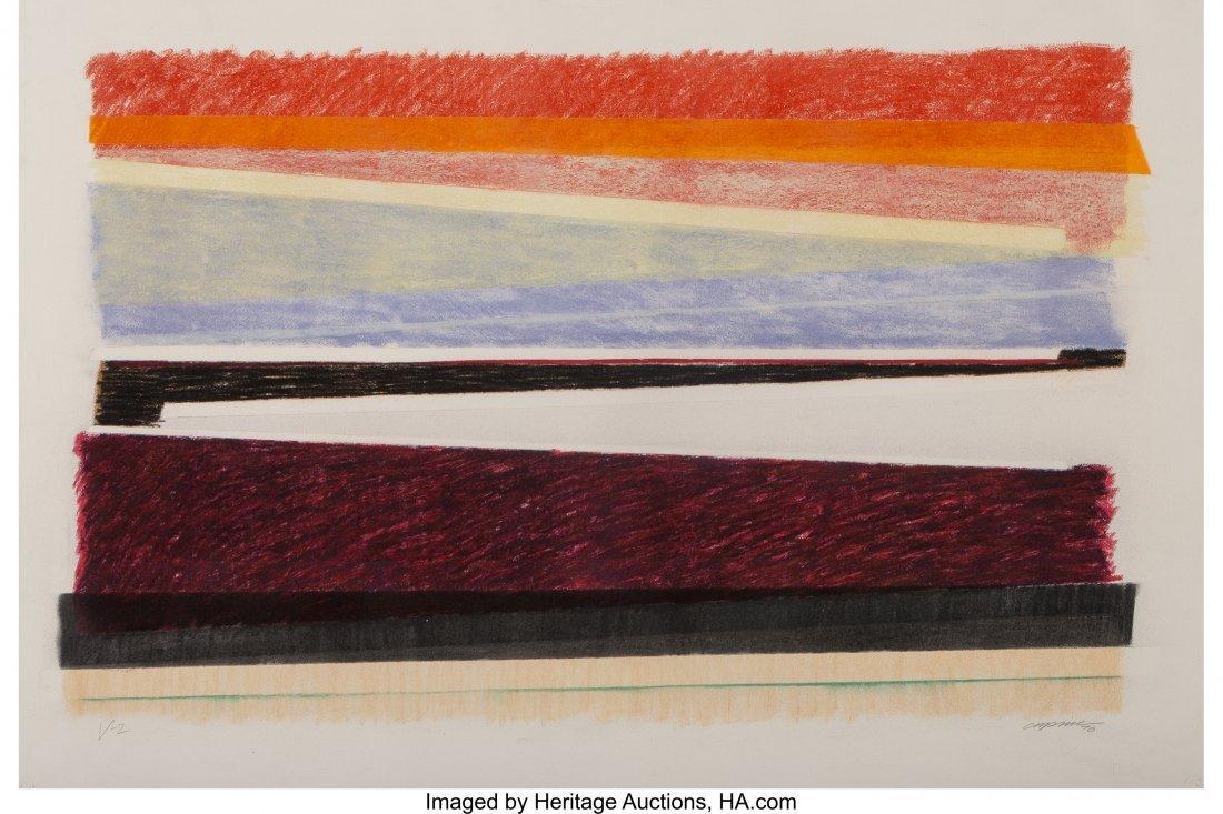 62343: Chuck Price (20th Century) V-2, 1976 Pastel on p