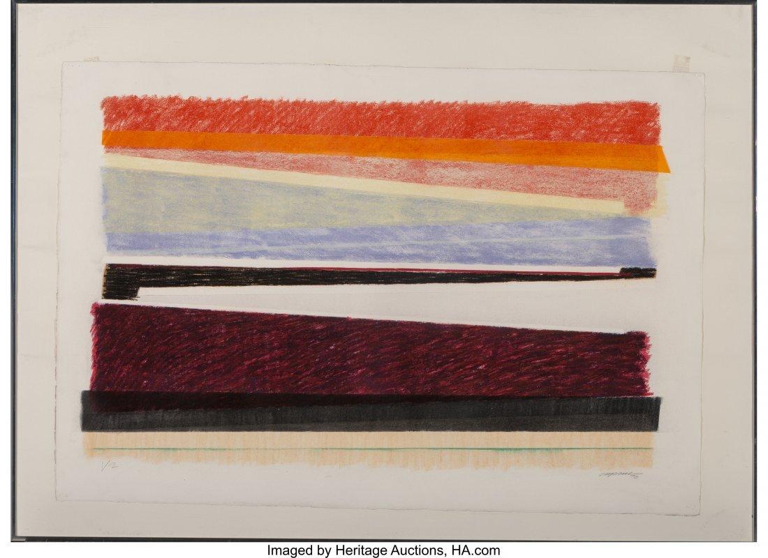 62343: Chuck Price (20th Century) V-2, 1976 Pastel on p - 2