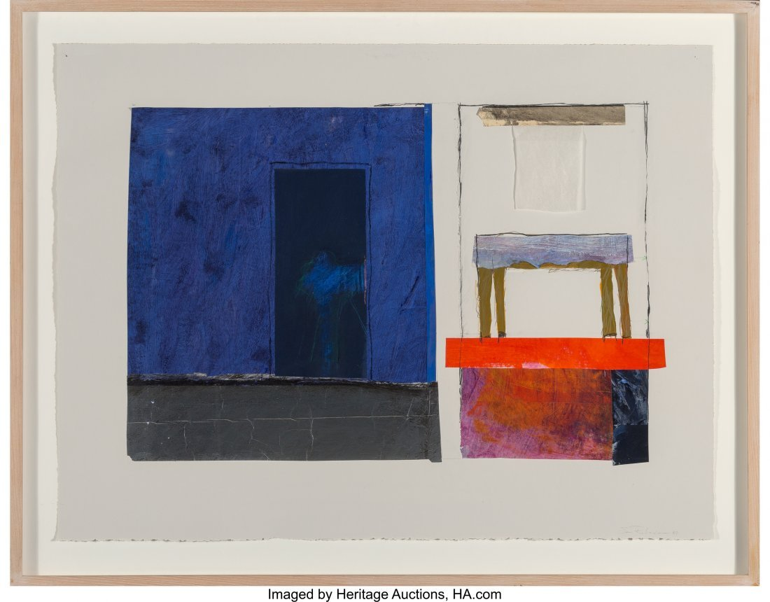 62345: Sam Richardson (American, 1934-2013) Lyn's Place - 2