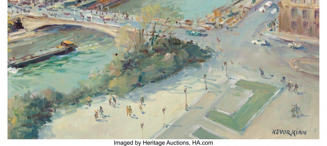 62211: Jean Kevorkian (French, b. 1933) Paris, la Seine - 3