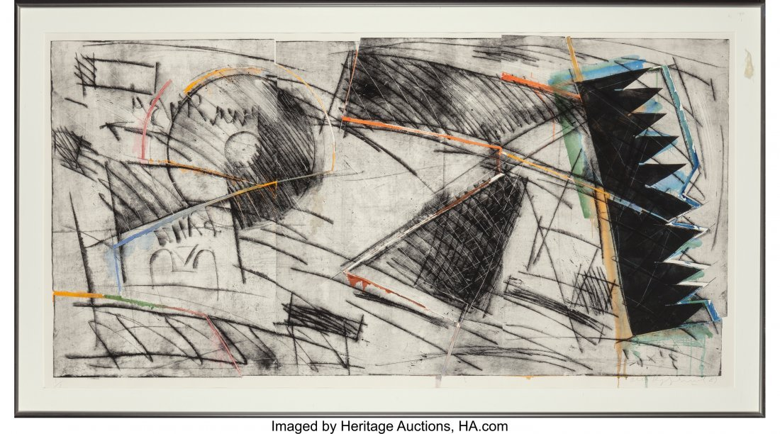 62360: Oleg Kudryashov (b. 1932) Plate No. 1778, 1989 D - 2