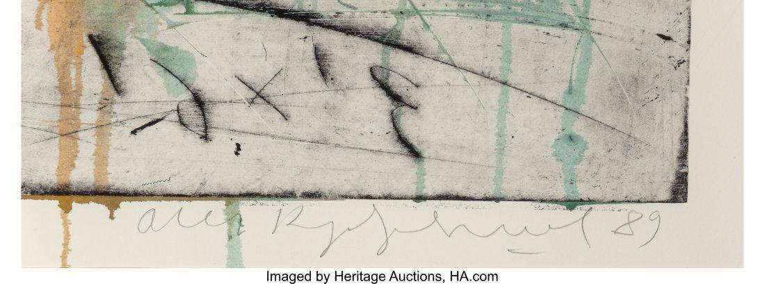 62360: Oleg Kudryashov (b. 1932) Plate No. 1778, 1989 D - 3