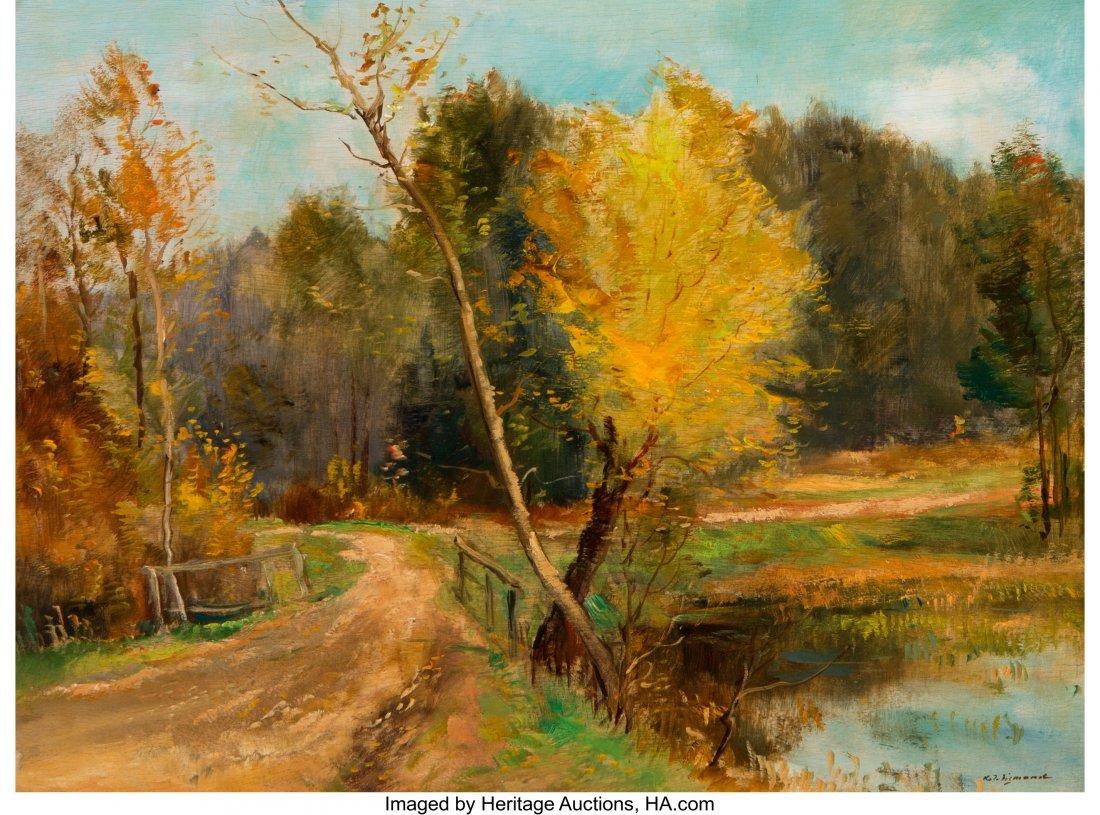 62233: Karel Jan Sigmund (Czech, 1897-1959) Autumn Land