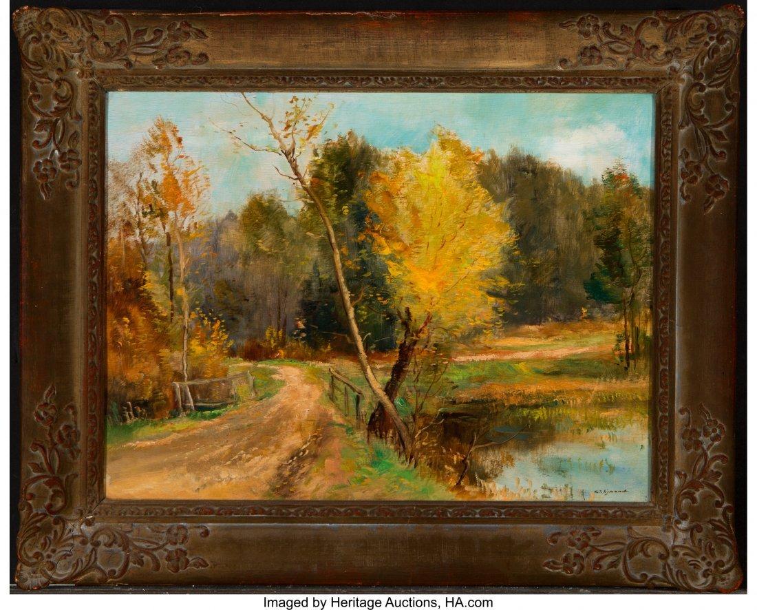 62233: Karel Jan Sigmund (Czech, 1897-1959) Autumn Land - 2
