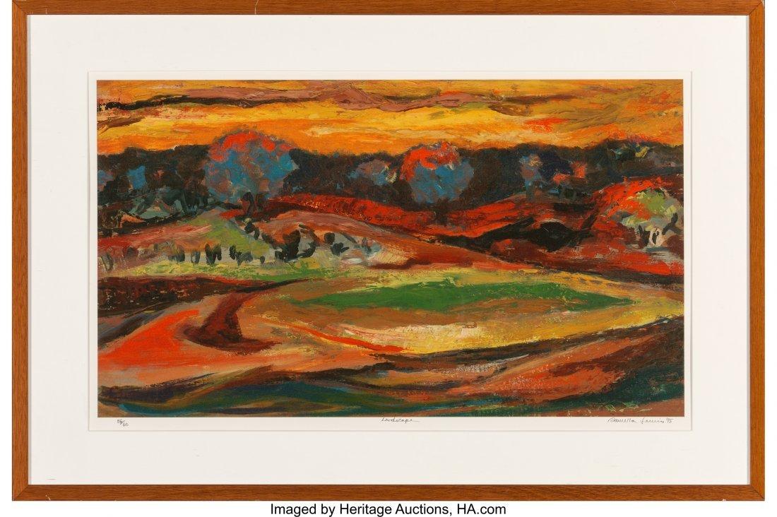 62234: Samella Sanders Lewis (American, b. 1924) Landsc - 2
