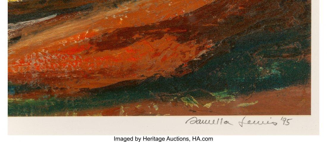 62234: Samella Sanders Lewis (American, b. 1924) Landsc - 3