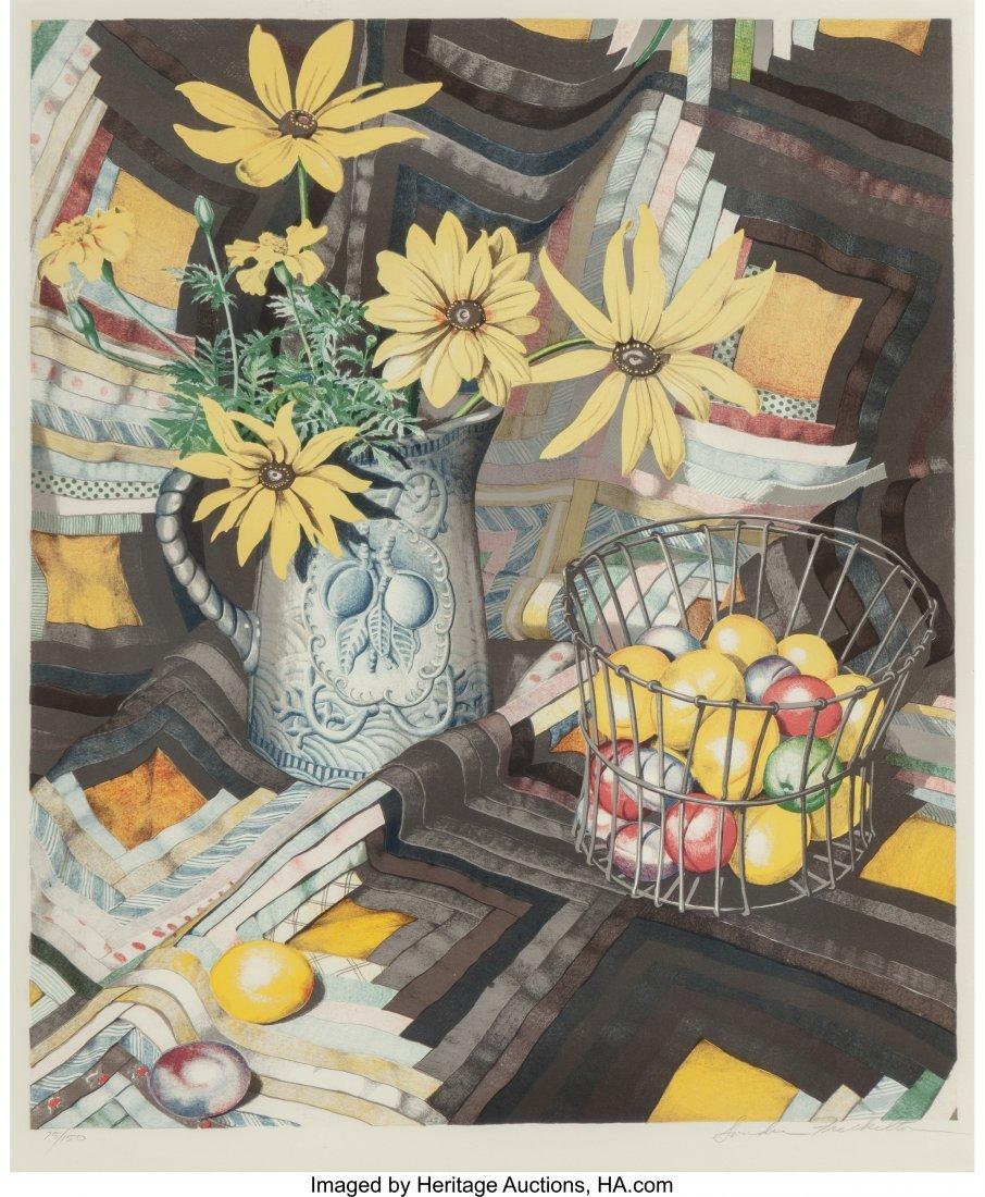 62383: Sondra Freckelton (b. 1936) Untitled (Flowers),