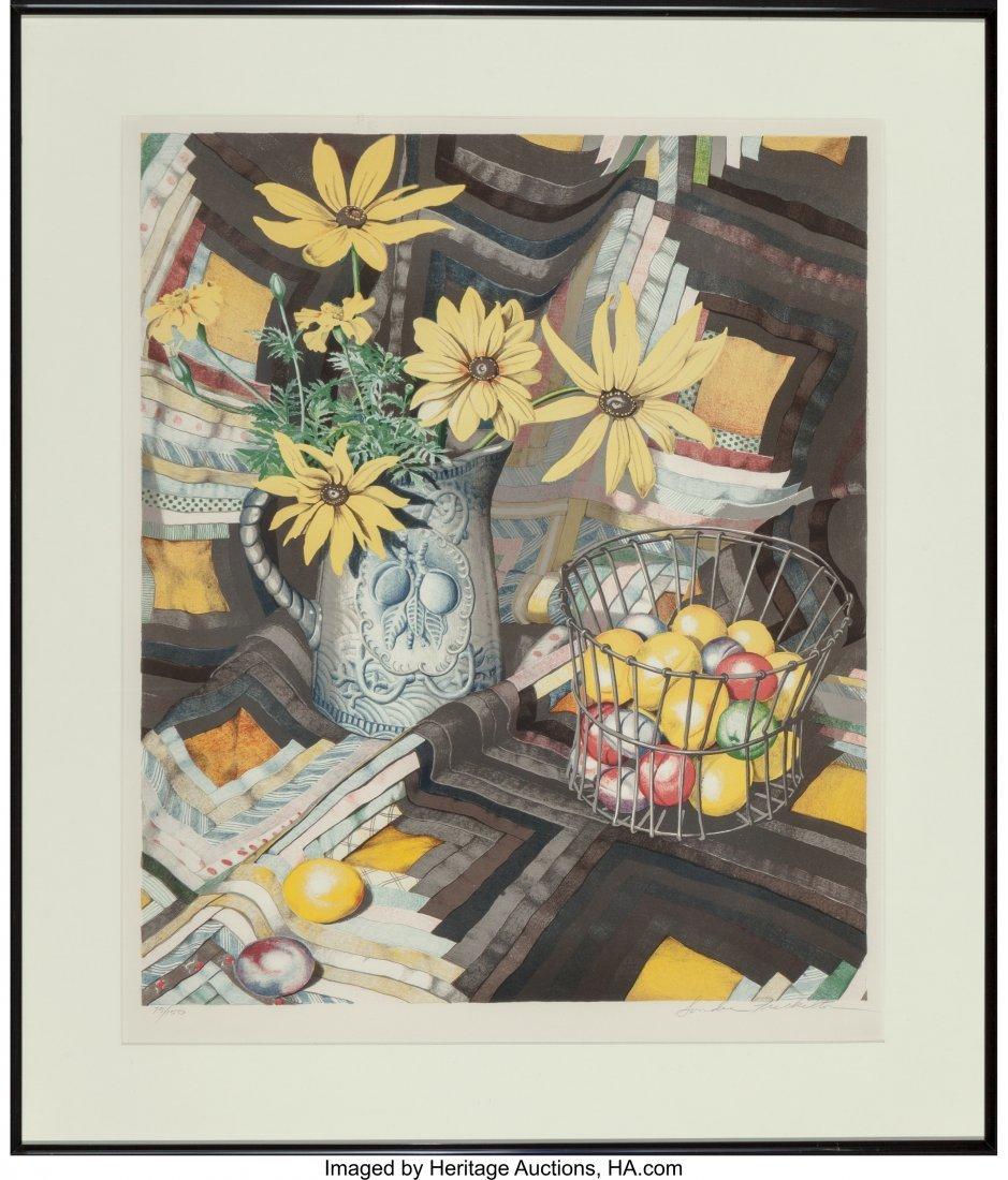 62383: Sondra Freckelton (b. 1936) Untitled (Flowers),  - 2