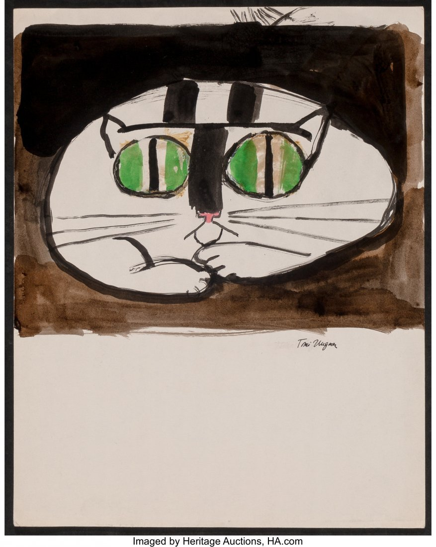62322: Tomi Ungerer (French, b. 1931) Cats (three works - 6