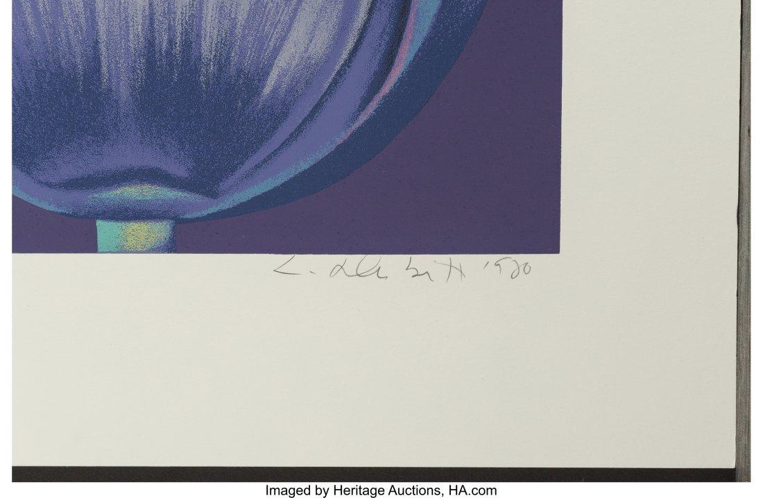 62389: Lowell Nesbitt (American, 1933-1993) Violet Mono - 2