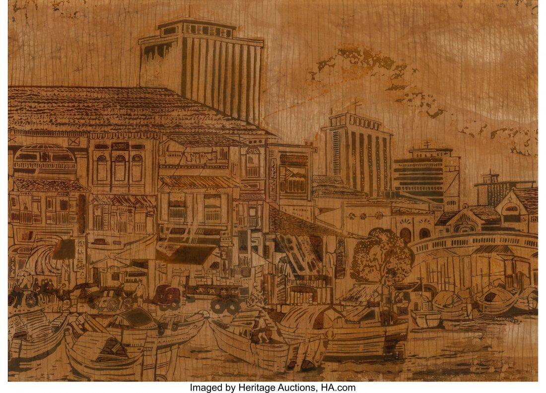 62392: Sarkasi bin Said (Javenese, b. 1940) Singapore,