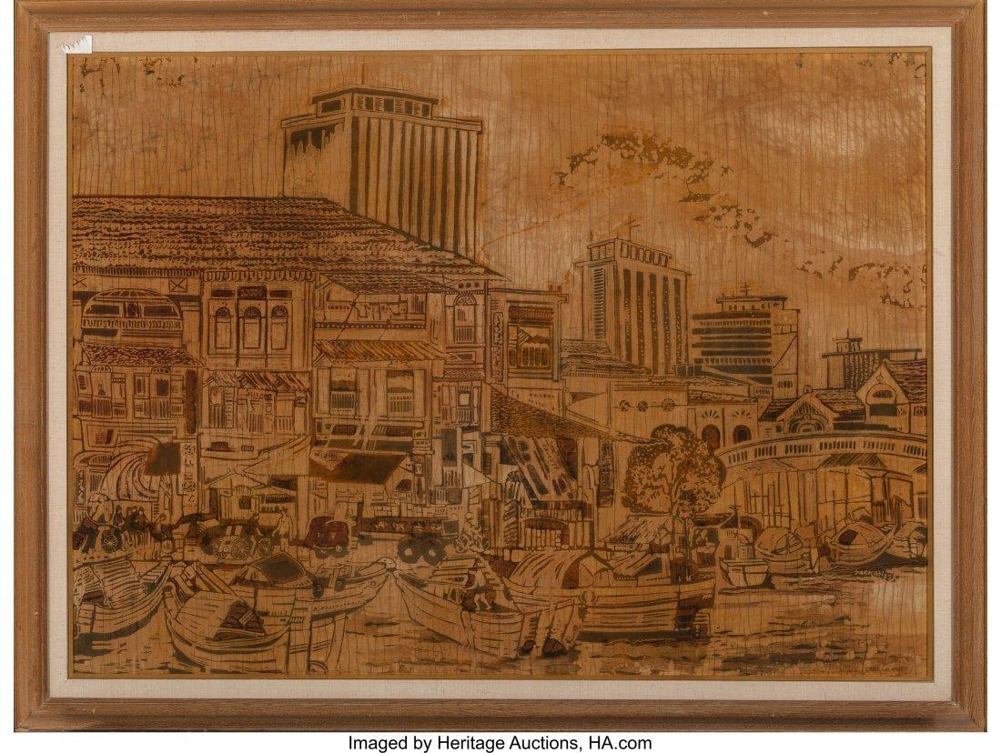 62392: Sarkasi bin Said (Javenese, b. 1940) Singapore,  - 2