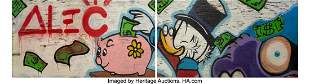12238: Alec Monopoly (American, b. 1986) Scrooge Piggy
