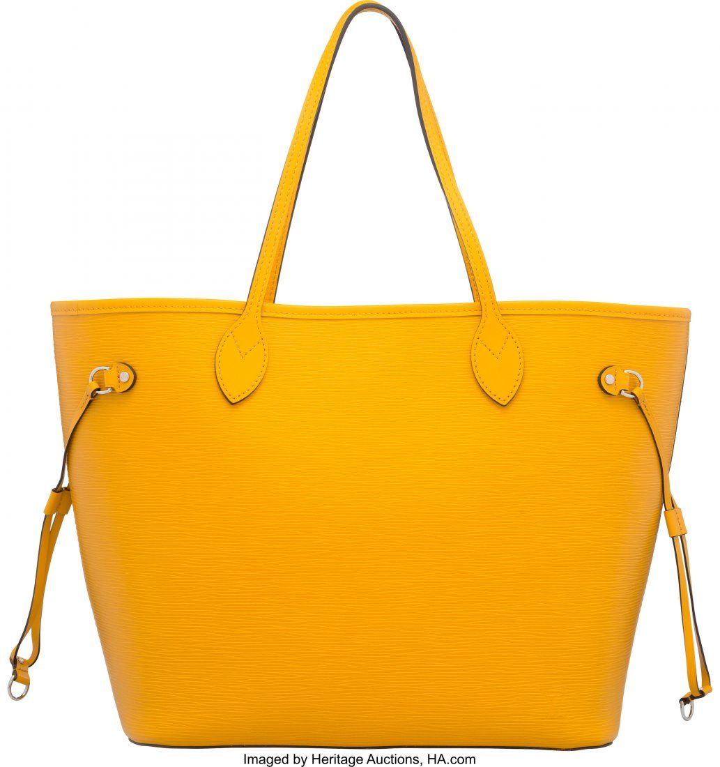 58044: Louis Vuitton Yellow Epi Leather Neverfull MM To