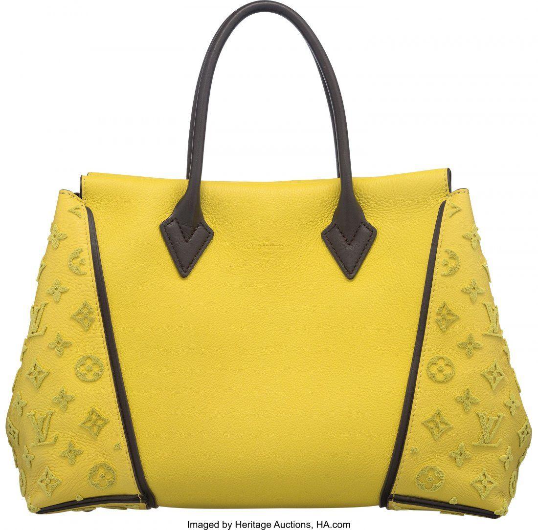 58045: Louis Vuitton Pistache Cachemire Leather W Tote