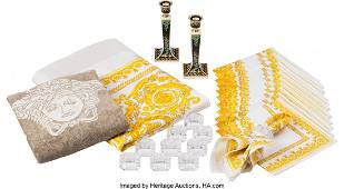 Versace Set of 26: Homewares Condition: 2 One