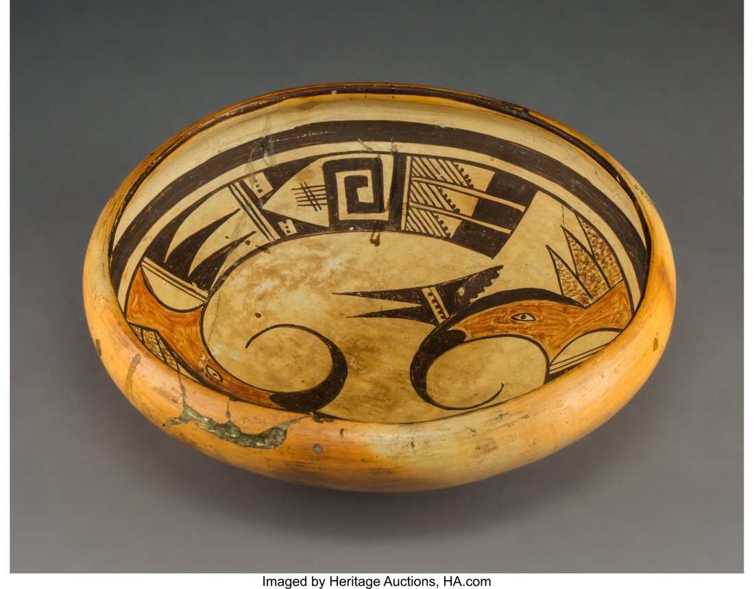 70450: A Hopi Polychrome Jar  Fannie Nampeyo   Diameter