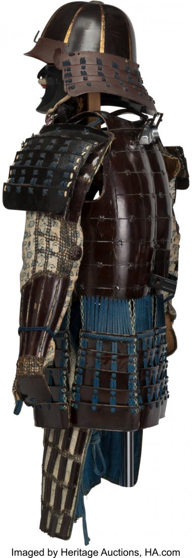 78474: A Japanese Samurai Armor with Box, Edo Period, 1 - 3