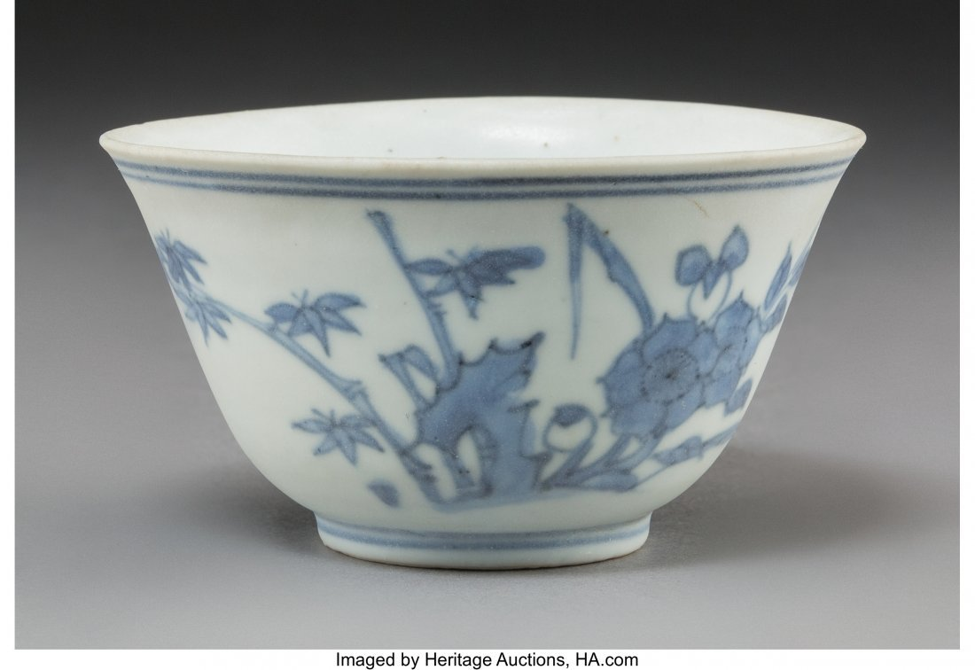 78680: A Chinese Shipwreck Blue and White Porcelain Cup