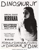 89144 NirvanaDinosaur Jr Hollywood Palladium Minipo