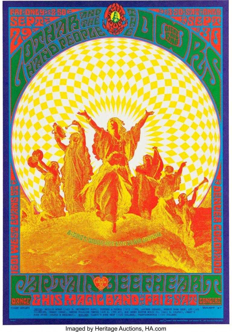 89112: Doors 1601 West Evans Denver Concert Poster, FD-