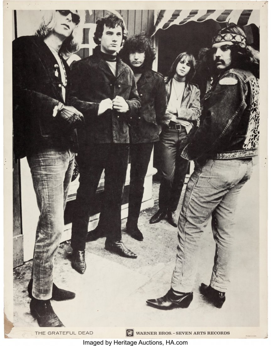 89128: Grateful Dead Record Promotional Poster (Warner
