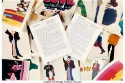 89191: Beatles Yellow Submarine Vintage Press Releases