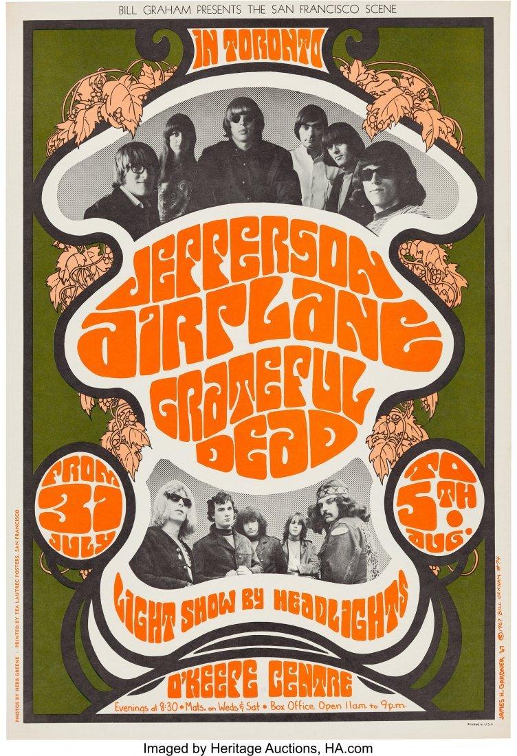 89089: Grateful Dead/Jefferson Airplane O'Keefe Centre