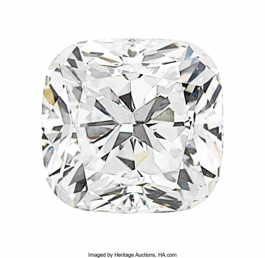 55141: Unmounted Diamond  The cushion modified brillian