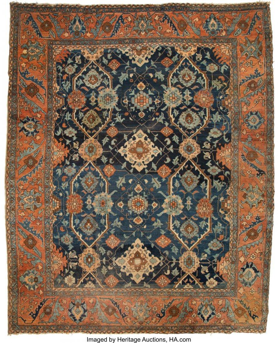 63023: A Karadja Carpet 10 feet 3 inches x 8 feet 4 inc