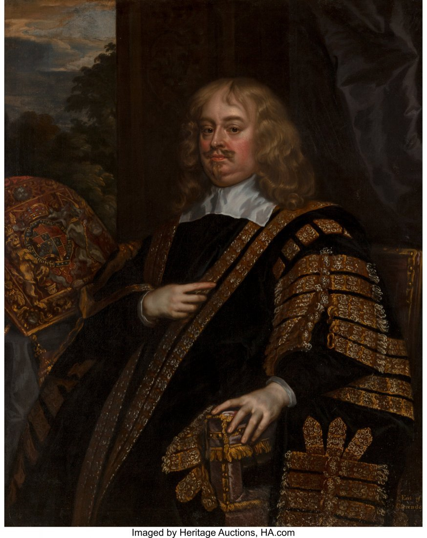 63059: After Sir Peter Lely (British) Edward Hyde, Firs