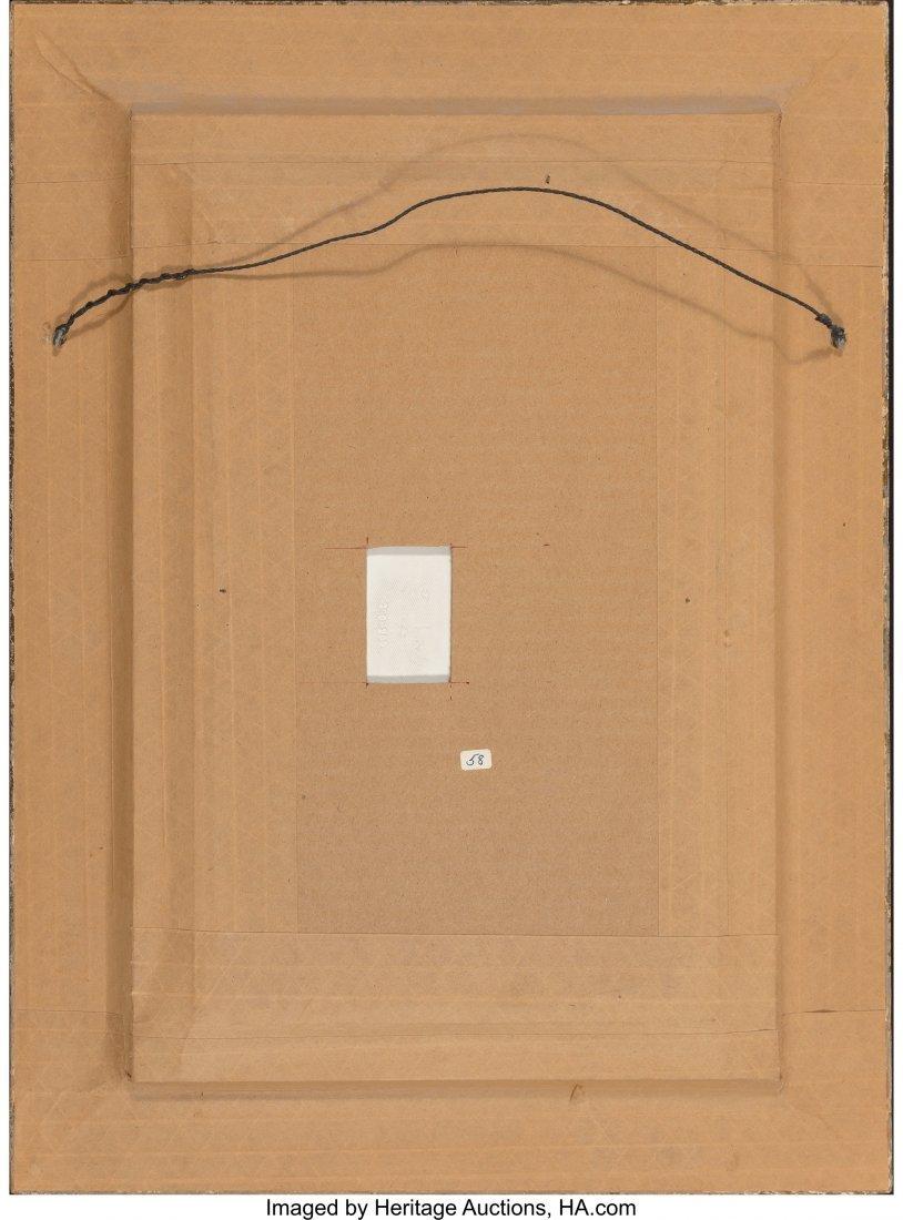 63411: A KPM Porcelain Plaque Depicting Isaac and Rebec - 3