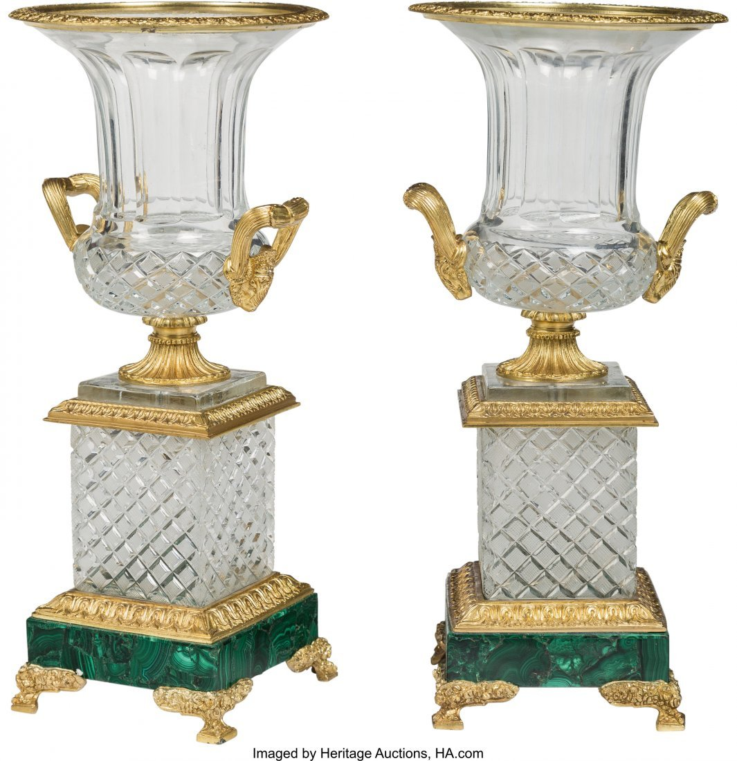 63378: A Pair of Napoleon III-Style Gilt Bronze-Mounted