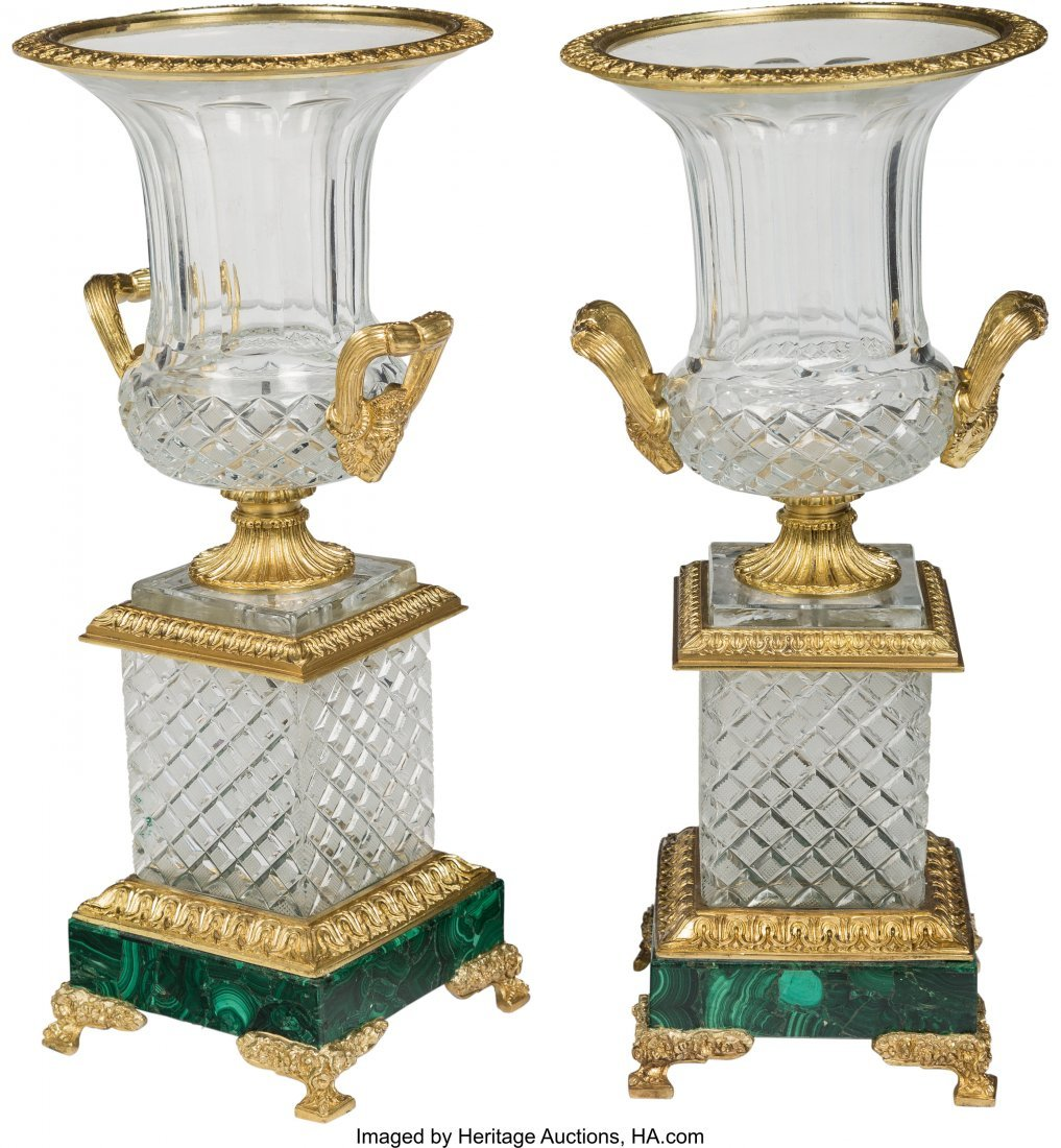 63378: A Pair of Napoleon III-Style Gilt Bronze-Mounted - 2