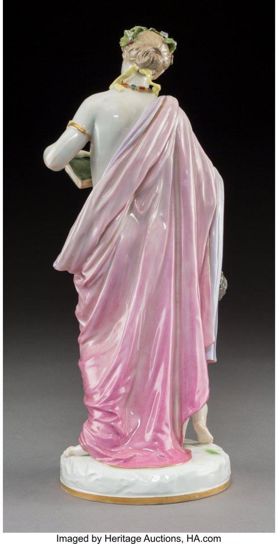 63428: A Meissen Polychromed and Gilt Porcelain Figural - 2