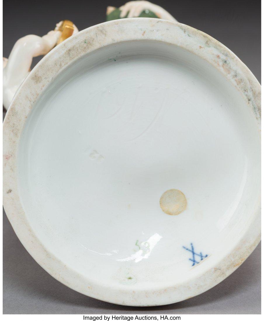 63428: A Meissen Polychromed and Gilt Porcelain Figural - 3